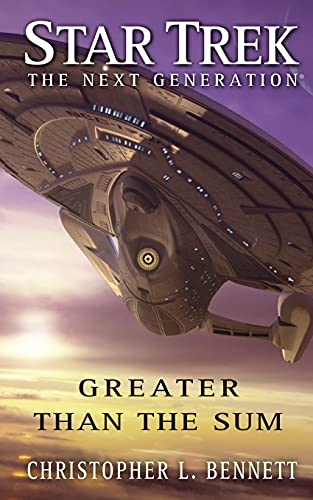 9781501107177: Star Trek: The Next Generation: Greater Than the Sum