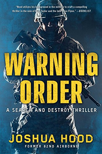 9781501108280: Warning Order: A Search and Destroy Thriller