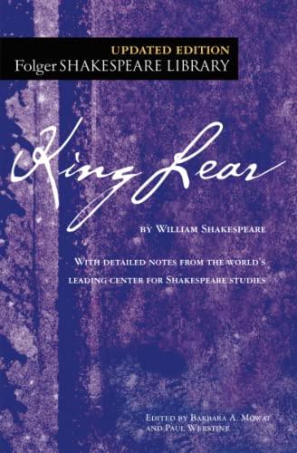 9781501118111: King Lear (Folger Shakespeare Library)