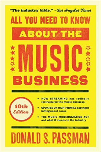 9781501122187: All You Need to Know About the Music Business: 10th Edition