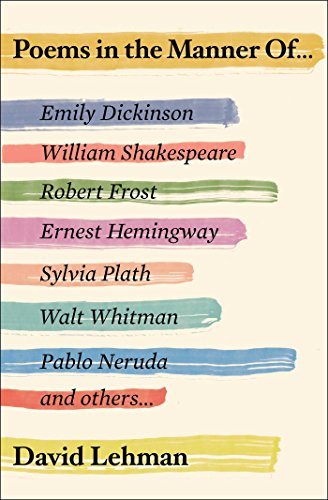 9781501137396: Poems in the Manner Of