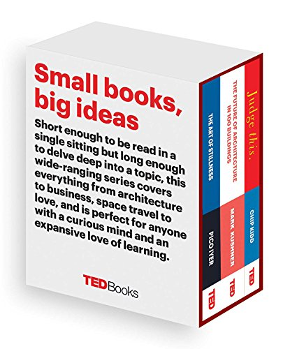 Ted Books Box Set: The Creative Mind: The Art of Stillness, the Future of Architecture, and Judge ...