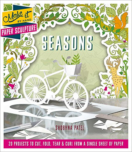 9781501158230: Paper Sculpture Seasons (Make It By Hand)