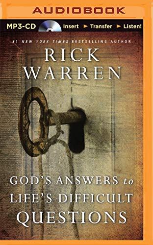 God s Answers to Life s Difficult: Dr Rick Warren