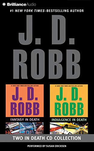 J.D. Robb in Death CD Collection Ndulgence in Death: Fantasy in Death/Indulgence in Death: ...