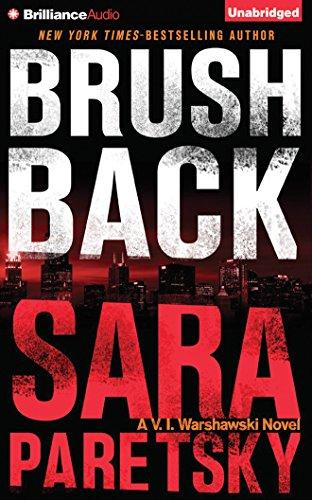 9781501231292: Brush Back (V. I. Warshawski Series)