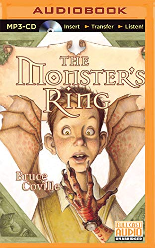 The Monster's Ring (A Magic Shop Book): Bruce Coville
