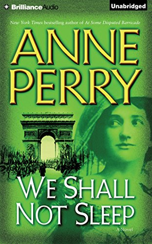 We Shall Not Sleep: Anne Perry