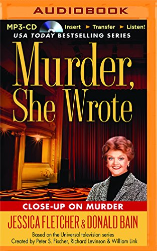 Close-up on Murder (Murder, She Wrote): Fletcher, Jessica; Bain, Donald