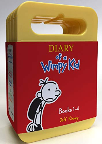 9781501259142: Diary of a Wimpy Kid Boxed Set: Diary of a Wimpy Kid, Rodrick Rules, The Last Straw, Dog Days