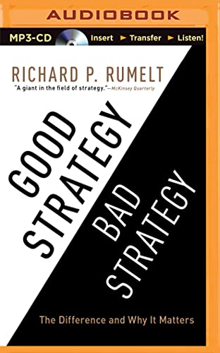 9781501259326: Good Strategy/Bad Strategy: The Difference and Why It Matters