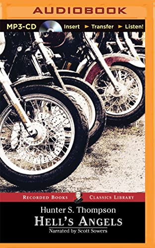 9781501259357: Hell's Angels: A Strange and Terrible Saga (Recorded Books Classics Library)