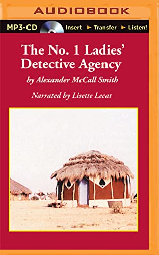 The No. 1 Ladies' Detective Agency: Smith, Alexander Mccall/