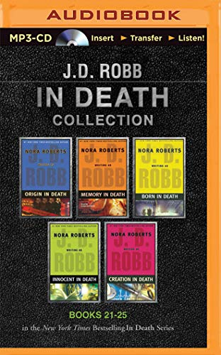 9781501262449: J. D. Robb in Death Collection Books 21-25: Origin in Death, Memory in Death, Born in Death, Innocent in Death, Creation in Death