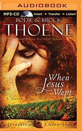 9781501262920: When Jesus Wept (Jerusalem Chronicles)