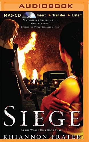 Siege (As the World Dies): Rhiannon Frater