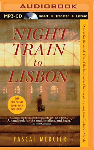 9781501264528: Night Train to Lisbon