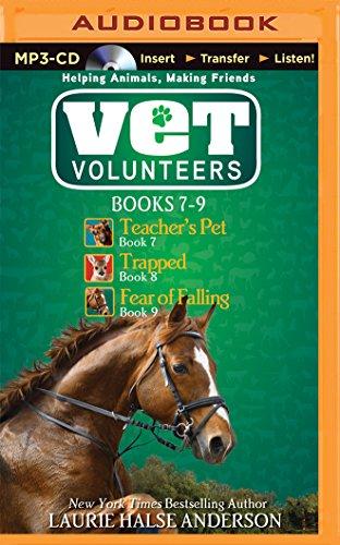 9781501266331: Vet Volunteers Books 7-9: Teacher's Pet, Trapped, Fear of Falling (Vet Volunteers Series)