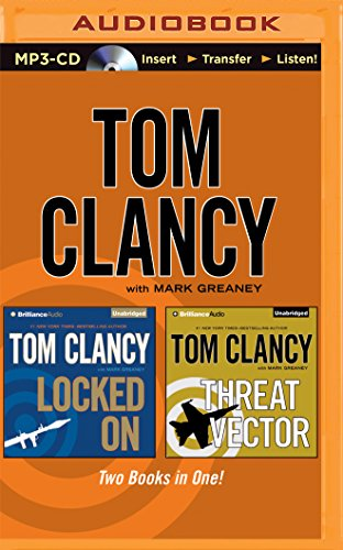 9781501276927: Tom Clancy Locked on and Threat Vector (2-In-1 Collection)