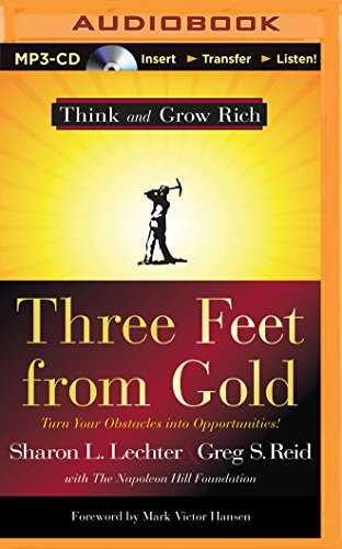 9781501284021: Three Feet from Gold: Turn Your Obstacles into Opportunities!