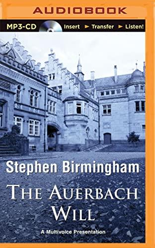 The Auerbach Will: Stephen Birmingham