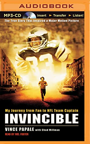 9781501287930: Invincible: My Journey from Fan to NFL Team Captain