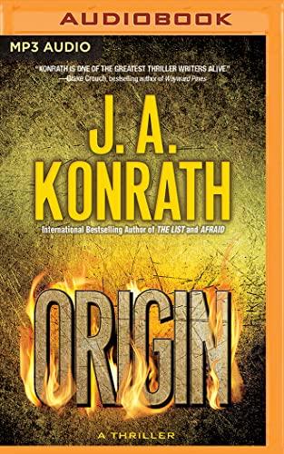 Origin (Technothrillers): J. A. Konrath