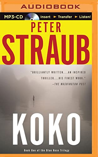 Koko (Blue Rose Trilogy): Peter Straub