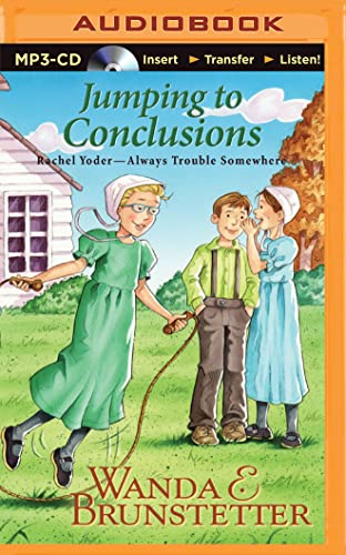 9781501294891: Jumping to Conclusions (Rachel Yoder – Always Trouble Somewhere Series)