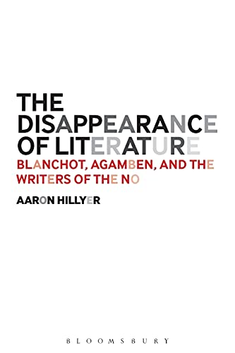 The Disappearance of Literature: Hillyer, Aaron