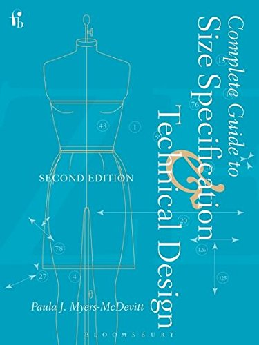 9781501310157: Complete Guide to Size Specification and Technical Design 2nd Edition: Studio Access Card