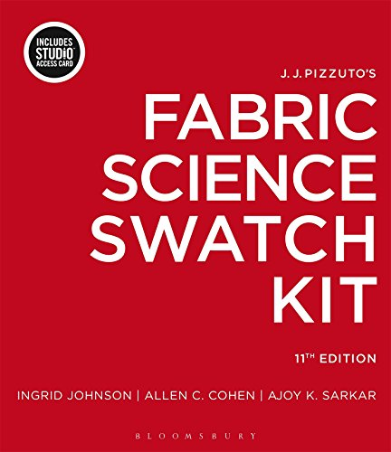 9781501316517: J.J. Pizzuto's Fabric Science Swatch Kit: Bundle Book + Studio Access Card