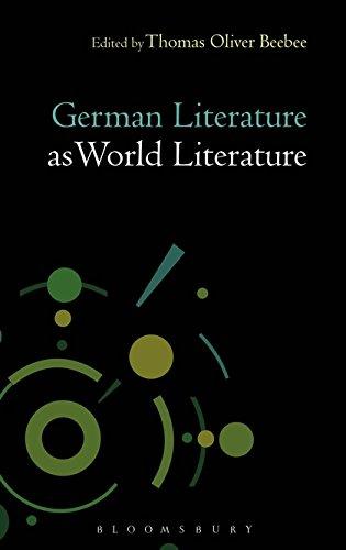 9781501317712: German Literature as World Literature (Literatures as World Literature)