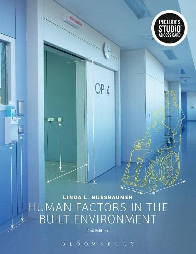 9781501323423: Human Factors in the Built Environment: Bundle Book + Studio Access Card