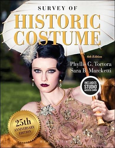 9781501395253: Survey of Historic Costume: Bundle Book + Studio Access Card