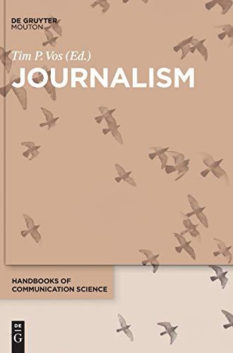 9781501510380: Journalism (Handbooks of Communication Science [HoCS])