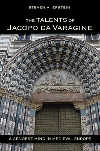 The Talents of Jacopo da Varagine (Hardcover): Steven A. Epstein