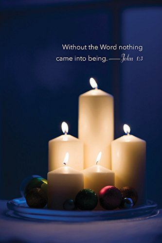 Without the Word Candlelighting Bulletin 2015, Regular (Pkg of 50): Abingdon Press