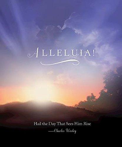 Alleluia! Sunrise Easter Bulletin, Large (Pkg of 50)