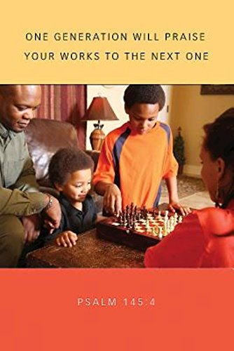 9781501802720: Game Time Family Bulletin (Pkg of 50): African American Family