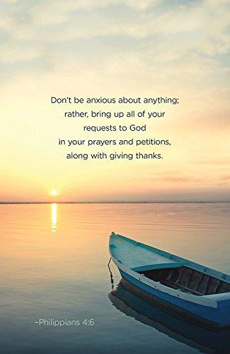 9781501802782: Don't Be Anxious Scripture Series Bulletin (Pkg of 50) (General Hymn Bulletin)