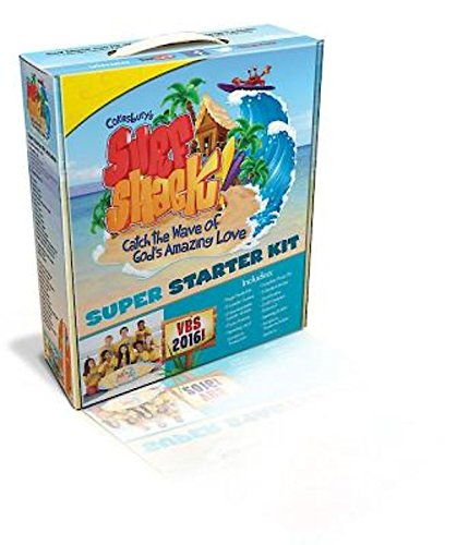 9781501804199: Vacation Bible School (VBS) 2016 Surf Shack Super Starter Kit: Catch the Wave of God's Amazing Love