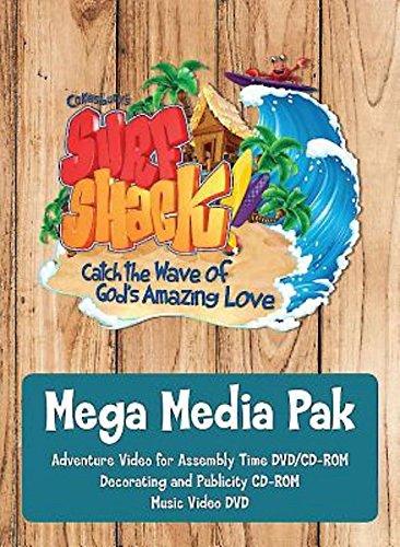 9781501811548: Vacation Bible School (VBS) 2016 Surf Shack Mega Media Pak: Catch the Wave of God's Amazing Love