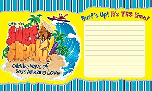 9781501811661: Vacation Bible School (VBS) 2016 Surf Shack Outdoor Banner: Catch the Wave of God's Amazing Love (Surf Shack: Catch the Wave of God's Amazing Love)