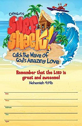 9781501811678: Vacation Bible School (VBS) 2016 Surf Shack Large Promotional Poster: Catch the Wave of God's Amazing Love
