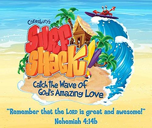 9781501811692: Vacation Bible School (VBS) 2016 Surf Shack Large Logo Poster: Catch the Wave of God's Amazing Love
