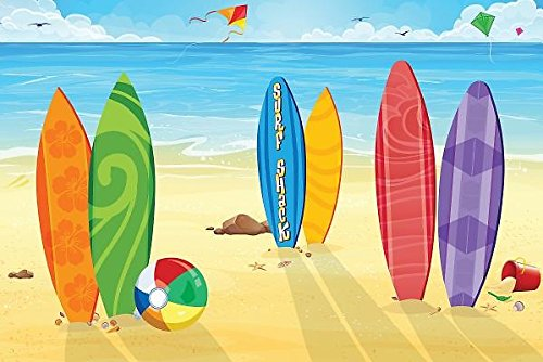 9781501811708: Vacation Bible School (Vbs) 2016 Surf Shack Decorating Mural: Catch the Wave of God's Amazing Love