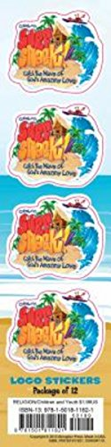 9781501811821: Vacation Bible School (VBS) 2016 Surf Shack Logo Stickers (Pkg of 12): Catch the Wave of God's Amazing Love