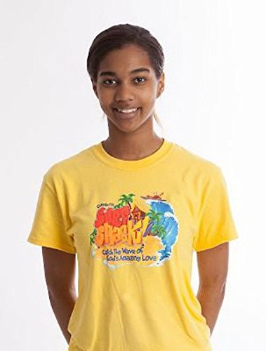 9781501816529: Vacation Bible School (VBS) 2016 Surf Shack Leader T-Shirt Size Large: Catch the Wave of God's Amazing Love