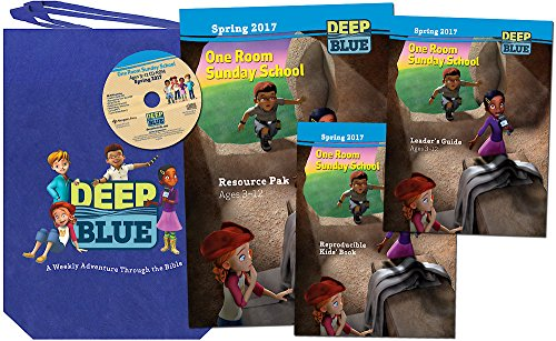 9781501816888: Deep Blue One Room Sunday School Kit Spring 2017: Ages 3-12